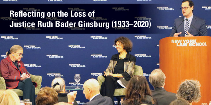 Reflecting on the Life of Justice Ruth Bader Ginsburg