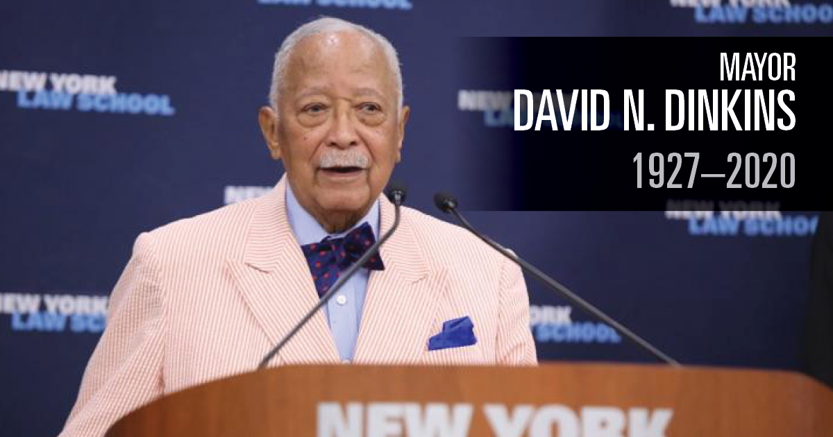 Mayor David N. Dinkins
